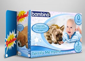 Terrify Me Hyena Baby Shower Gifts